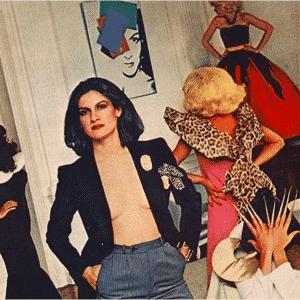 Paloma Picasso - zdjęcie sprzed lat.