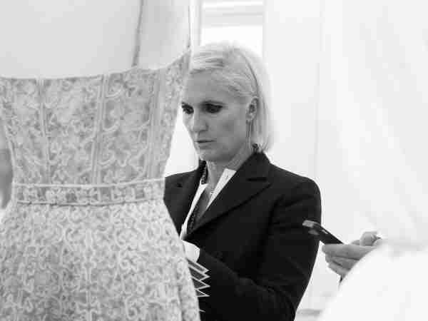 Maria Grazia Chiuri w Dior