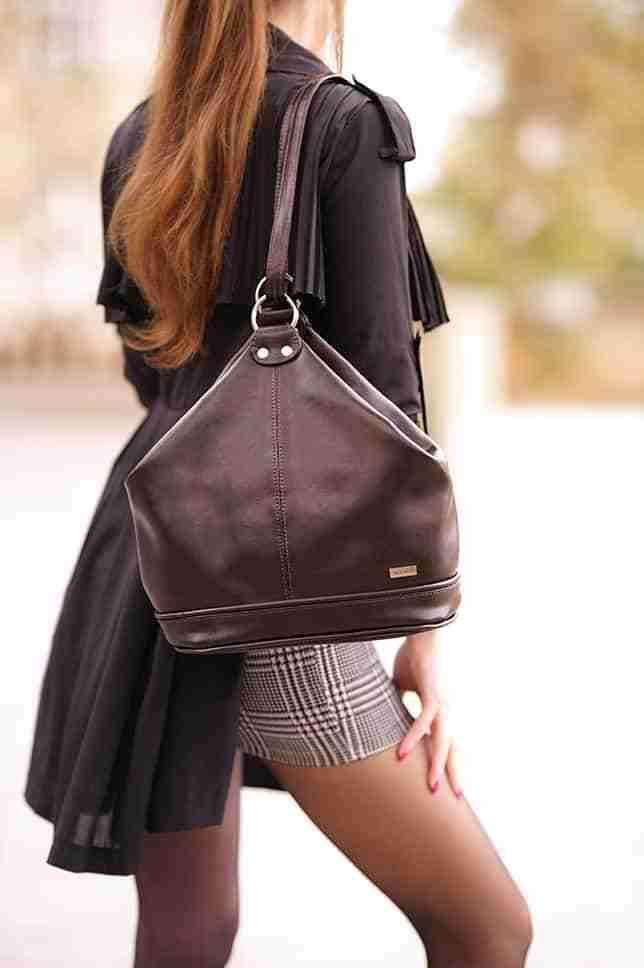 torba ze skóry vintage