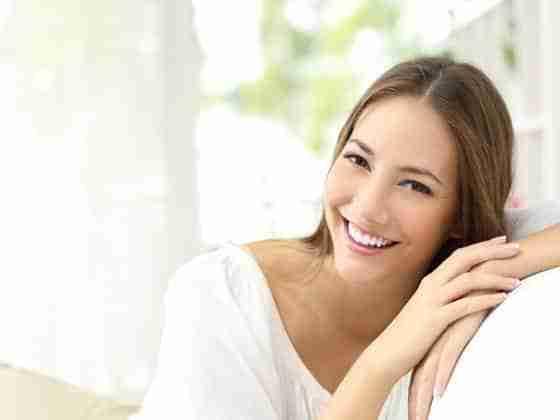 Kobiecy uśmiech