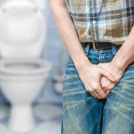 Problem z nietrzymaniem moczu