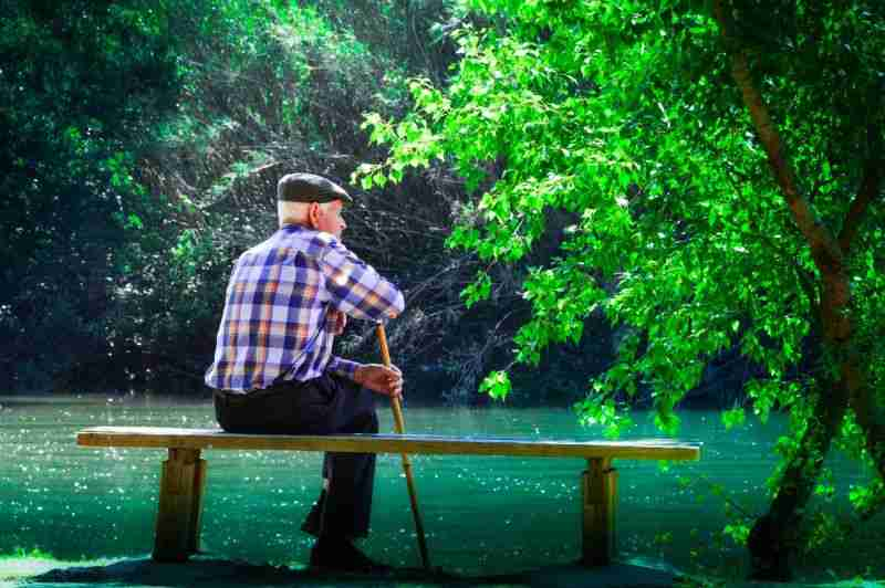 spokojna starość