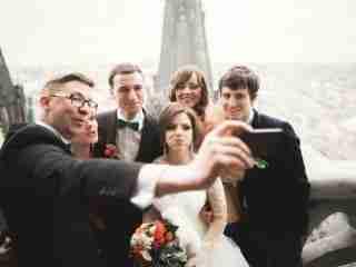 ścianka do zdjęć na weselu