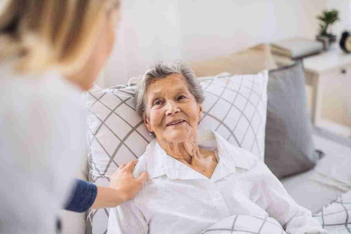 Opieka nad leżącym chorym